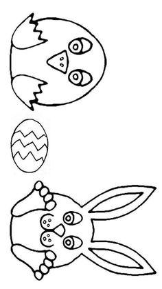 Color by Number – Easter Worksheets – Easter Eggs