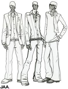 1000+ images about Men fashion illustrations on Pinterest