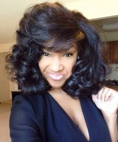 1000 images about hair flat iron stretched on pinterest natural hair roller set and style