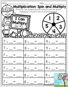 Multiplication with a Riddle- Multiply one and three digit