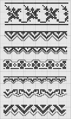 1000+ images about Knit Patterns: Charts, Etc on Pinterest