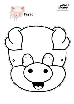 Printable masks, Free chickens and Masks on Pinterest