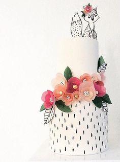 wedding cake idea; H