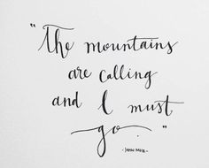 The Poetry Of John Muir: Quotes on Nature, Conservation