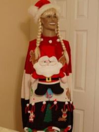 Ugly Christmas Sweater Door Decorations