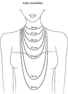 1000+ ideas about Necklace Length Chart on Pinterest