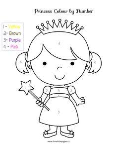 ESL-EFL Worksheets, Kindergarten Worksheets, Color by