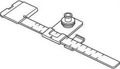 Aparelho para costuras circulares Janome 9900