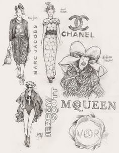 1000+ images about ~ Fashion Sketches/Illustration ~ on
