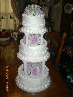 Walmart 3 Tier Wedding Cakes The Three Tiers Were Made