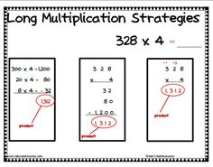 1000+ images about Math: Multiplication (2 Digit) on