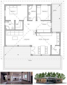 Modern Small House Plan Abundance Of Natural Light Three