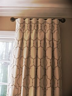 bay window curtain ideas living room grey couches in rooms decorative side panel rod | ... panels is a