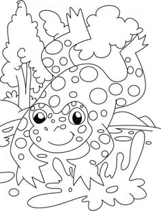 1000+ images about FROGS COLORING PAGES on Pinterest