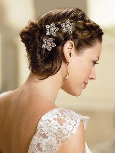 Wedding Hairstyles WEDDING BRIDAL HAIR Pinterest Matrimonio