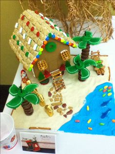 Jimmy Buffet Themed Gingerbread House Made With Kare Pinterest