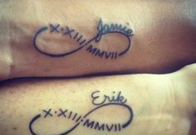 Infinity Tattoo Designs For Couples Tattoomagz
