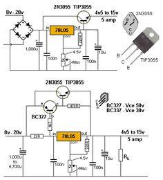 Details about Voltage Regulator PCB for LM317 LM337 or