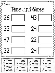 Winter 1st Grade Math Worksheets (Common Core Aligned