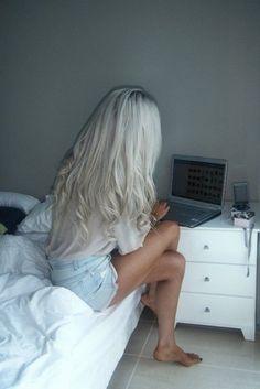 hair on pinterest white hair platinum hair and white blonde