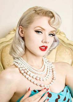Pin Up Hairstyles For Round Faces Pin Hair Trend 2017