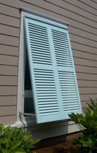 shutter awnings - yes, please, once we start on the ...
