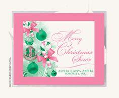 AKA Christmas On Pinterest Alpha Kappa Alpha Christmas