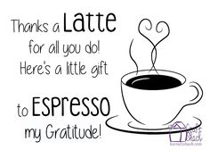 Paralegal, Thanks a latte and Thanks on Pinterest