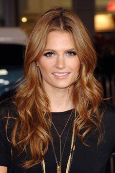 Stana Katic Kate Beckett Castle Season 3 Hair Cuts Pinterest