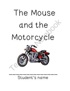 1000+ images about The Mouse and the Motorcycle Ideas and
