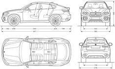 CAR blueprints 1992 Toyota Hilux V Double Cab 4x4 Truck
