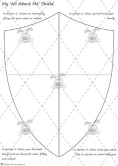 Medieval Knight Shield Template Related Keywords