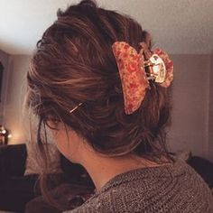 Claw Clip Updo Ma Body Baby Pinterest Updo And Clips