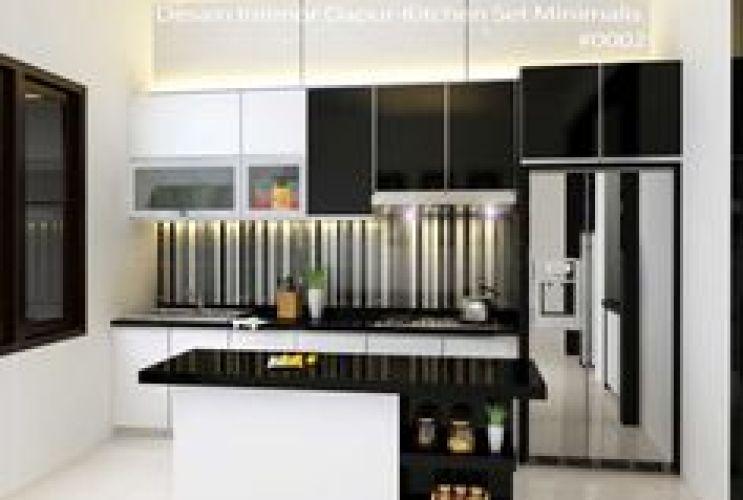 Design Kitchen Set Modern Ramekitchen Com