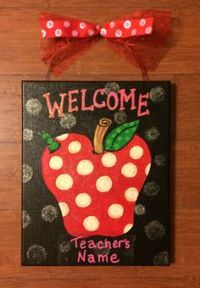1000+ ideas about Teacher Welcome Signs on Pinterest ...