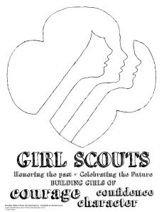 1000+ images about Girl Scout coloring pages on Pinterest