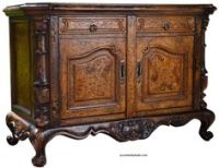 Old World Hand Painted-Hand Carved Chest.. St. Martin ...