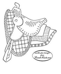 1000+ images about Embroidery Horses, etc. on Pinterest