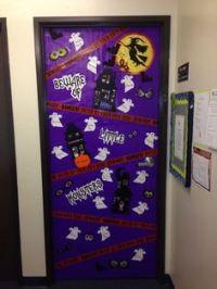 Halloween classroom door, Classroom door decorations and ...
