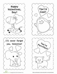 ***FREE*** Valentine's Day cut and paste puzzles (3) Cut