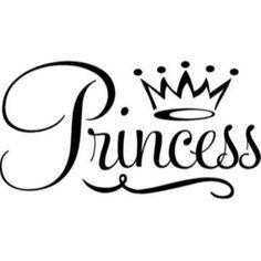 My Little Princess SVG scrapbook title princess svg cut