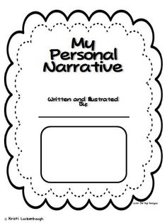 Personal narratives, Organizers and Graphic organizers on