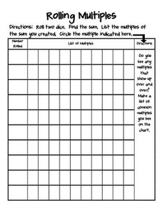 Here's a set of daily number study pages. Math skills on