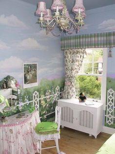 Girls Garden Theme Bedroom Gardens Bedroom Ideas And Little