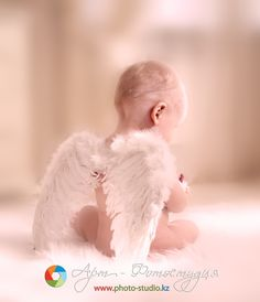 Toddler Baby Angel Wings WITH Elastic Straps Toddler