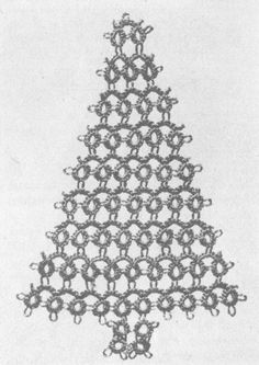 1000+ images about Tatted Xmas Trees, Wreaths, & Ornaments