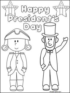Abraham Lincoln pattern. Use the printable outline for
