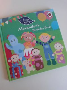 Personalised #InTheNightGarden Book In The Night Garden