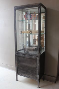 MetalGlass ApothecaryPharmacy Cabinets On Pinterest Vintage Medical Medical And Cabinets