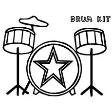 This Drums Coloring Page is very popular. If I could print